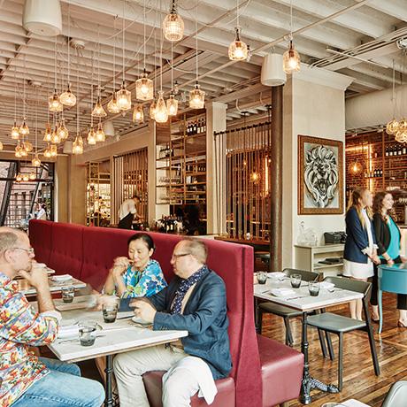 srv restaurant design sq