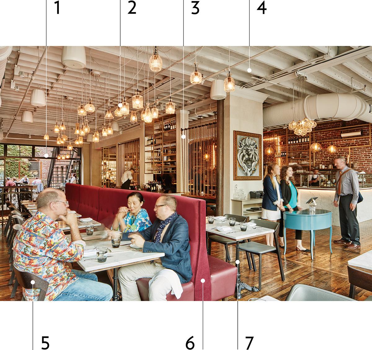 srv restaurant design