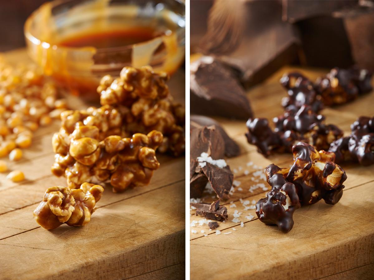 Ava's Caramel Popcorn sea salt caramel / extra dark chocolate