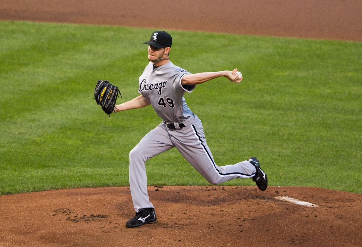 Chris Sale by Keith Allison on Flickr/Creative Commons