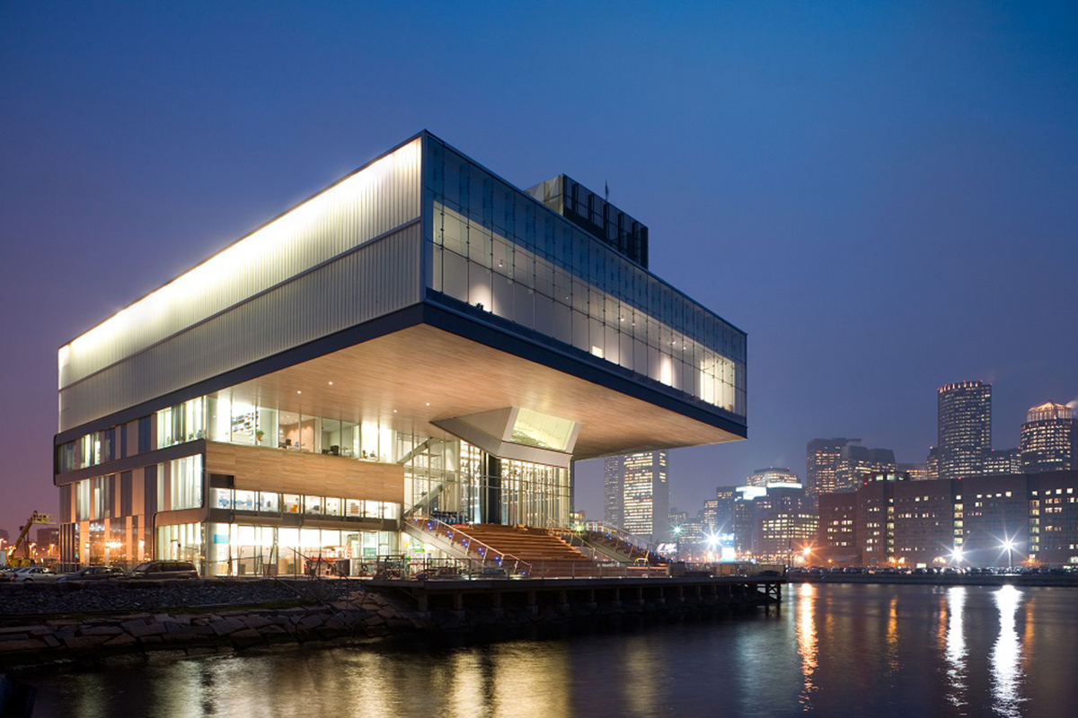 The Institute of Contemporary Art, Boston Diller Scofidio + Renfro Architects. Photo by Iwan Baan.
