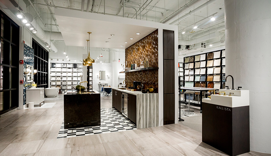 As Boston Design Centers First Retail Space Ann Sacks Recently Moved From The Third Floor Of BDC To Ground 21 Drydock Avenue
