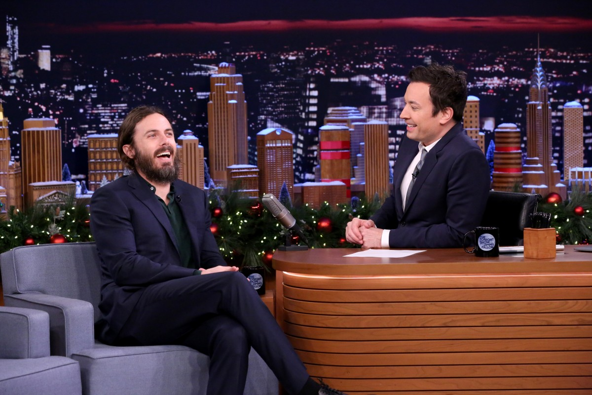 Casey Affleck on 'The Tonight Show Starring Jimmy Fallon.'