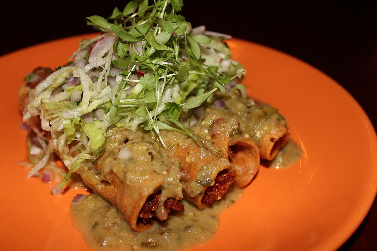 Rolled Tacos at Bandita Brighton