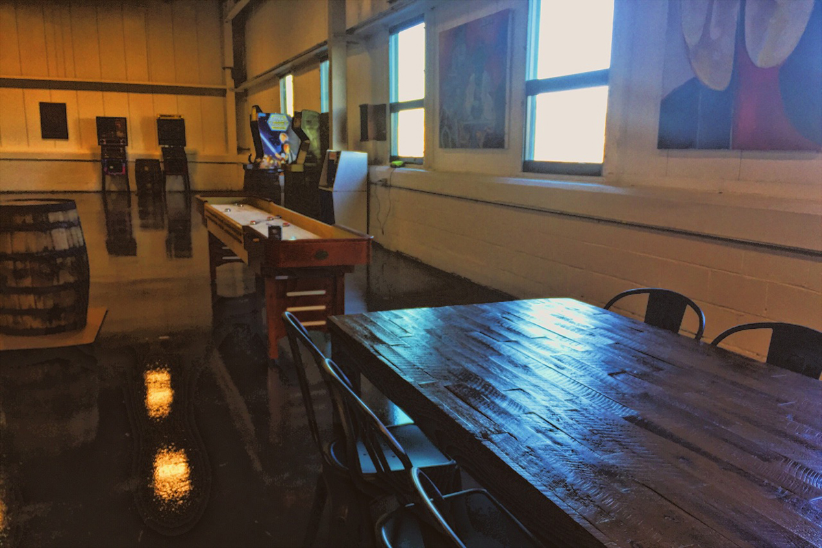 Springdale Barrel Room. / Photo by Mo Bentley provided