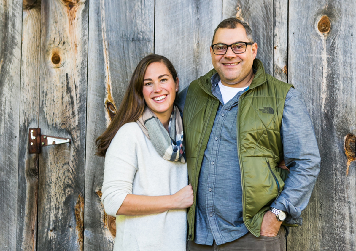 Kate and Jeff Fournier of the Thompson House Eatery