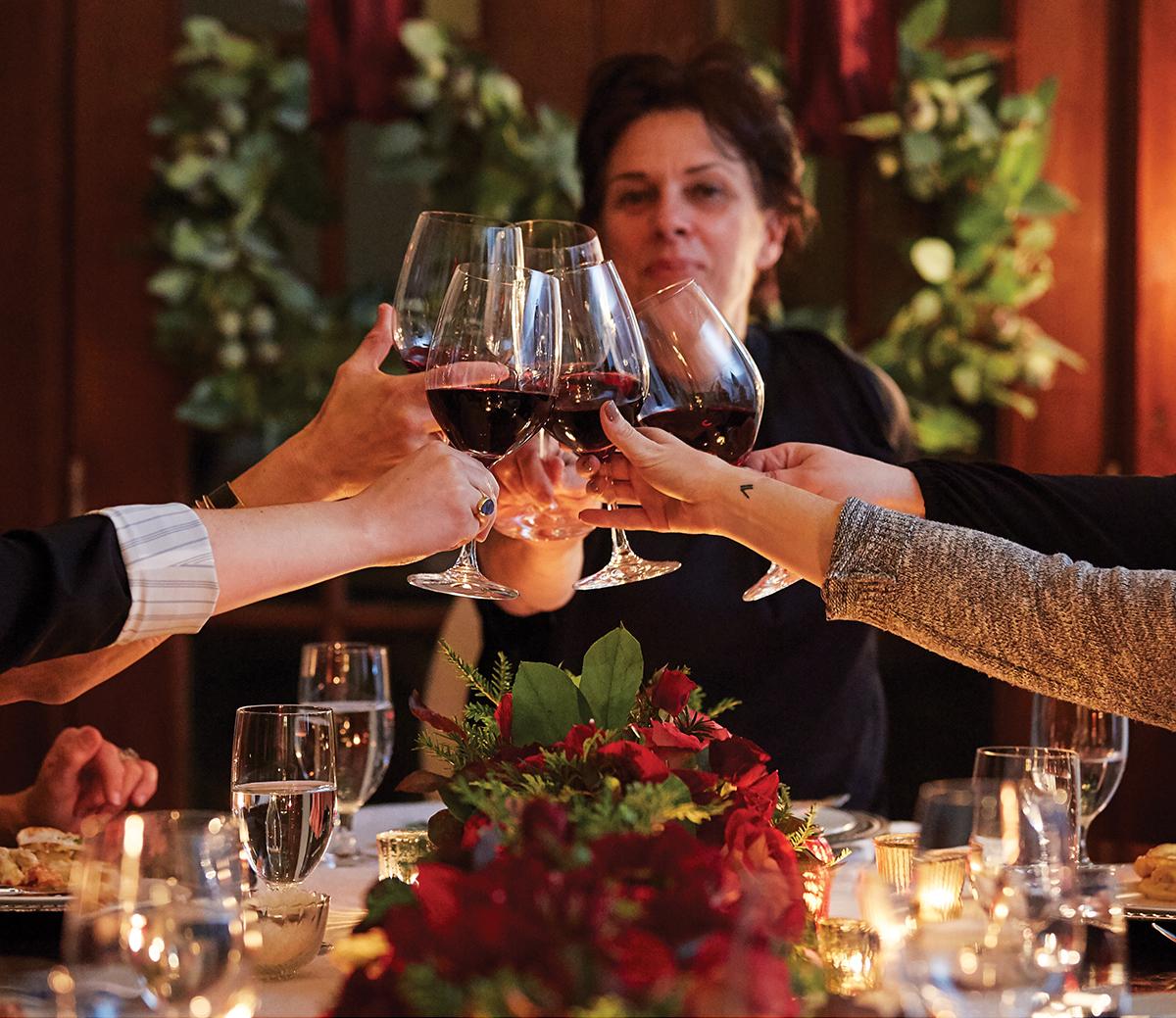 barbara lynch holiday recipes dinner table toast