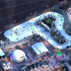 boston winter city hall plaza ice skating track rendering large sq