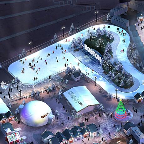 boston winter city hall plaza ice skating track rendering large sq