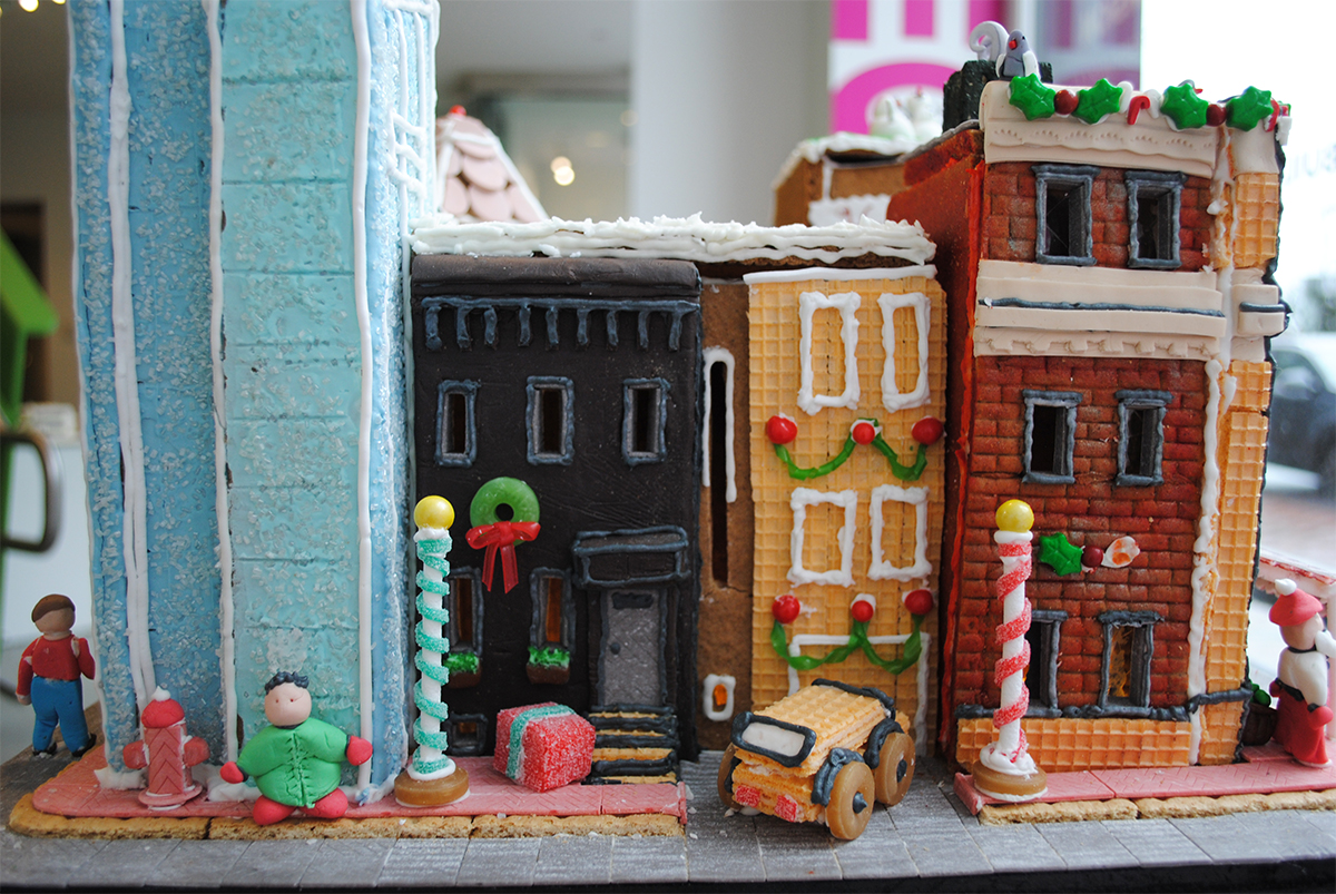 bsa space gingerbread house competition boston