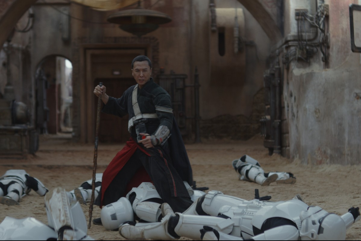 Donnie Yen in 'Rogue One: A Star Wars Story.'