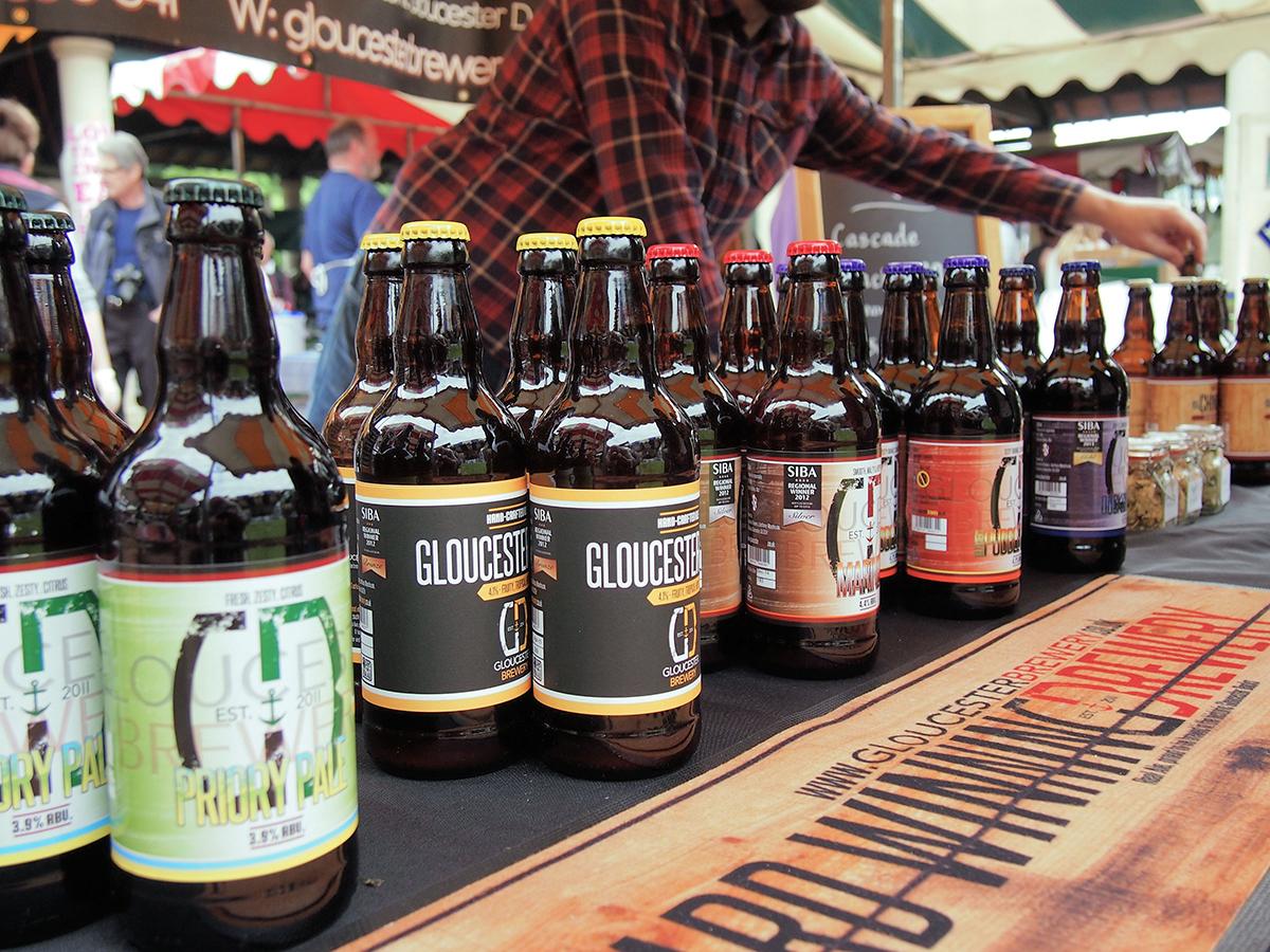 Beer at farmer's markets