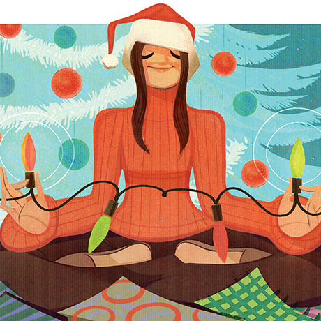 holiday stress advice sq