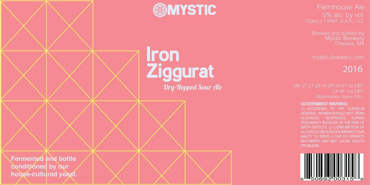 Iron Ziggurat, by Mystic Brewing