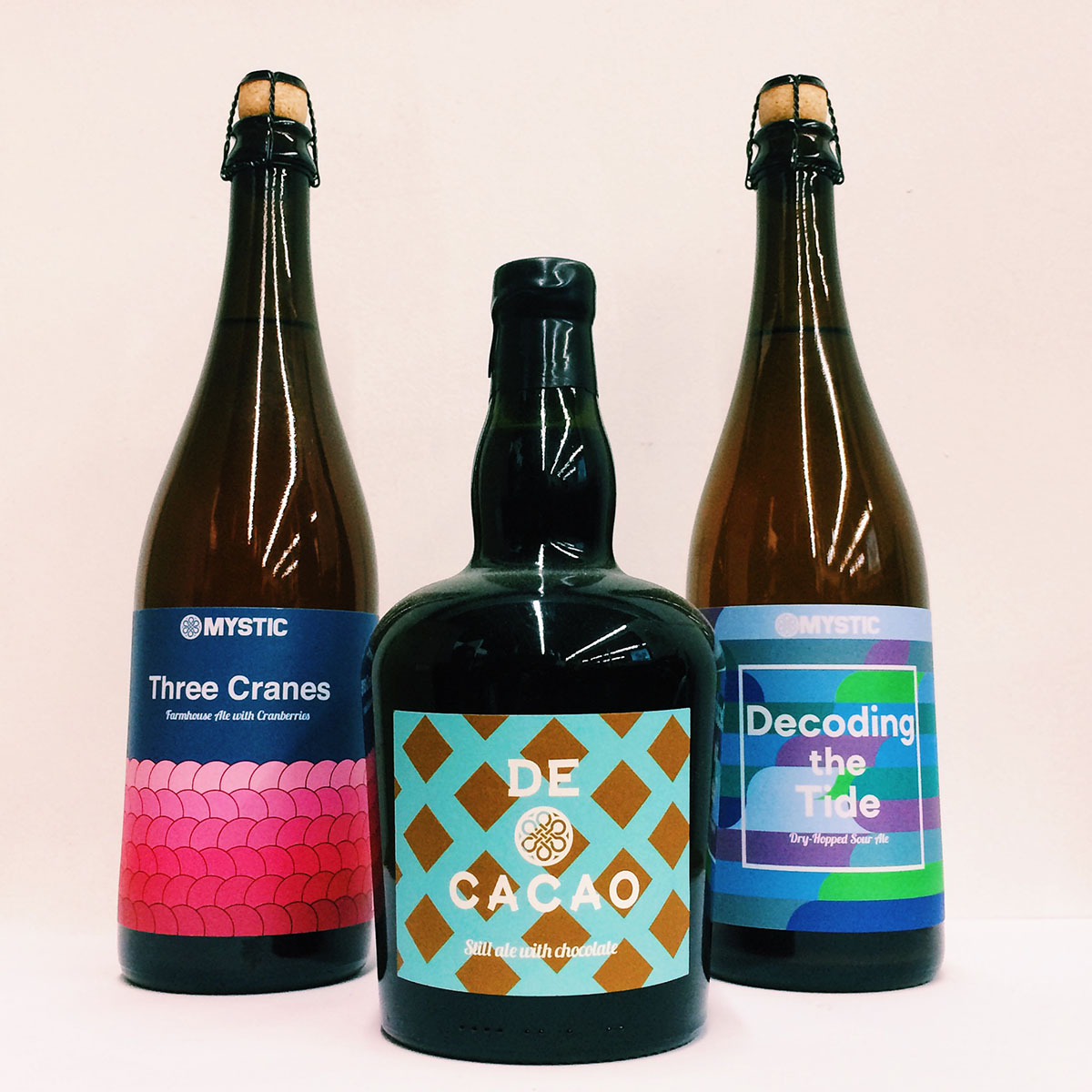 Bottles from Mystic Brewing
