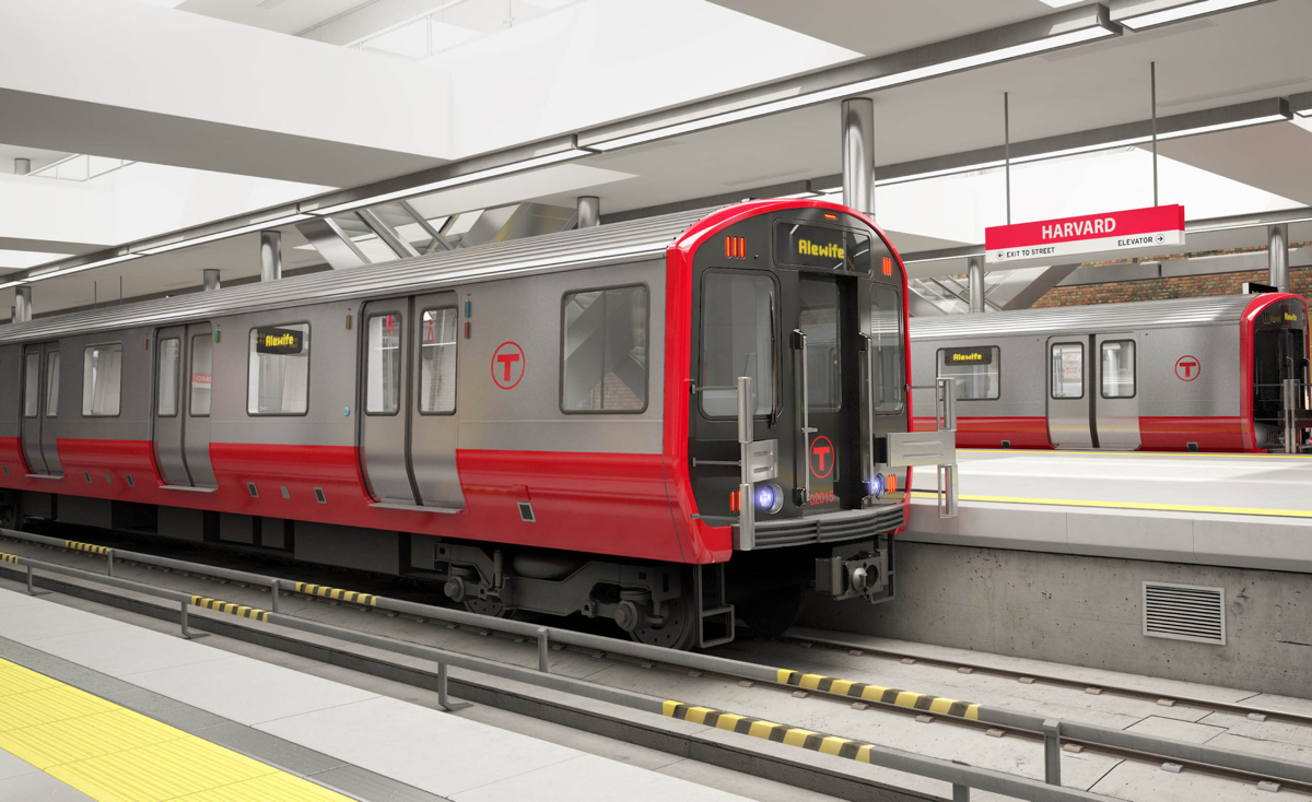 Mbta To Replace Entire Red Line With New Cars