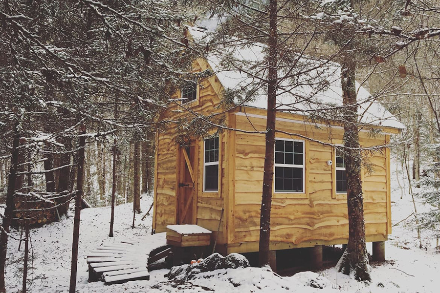 Six Quaint Cabins In New England To Rent This Winter
