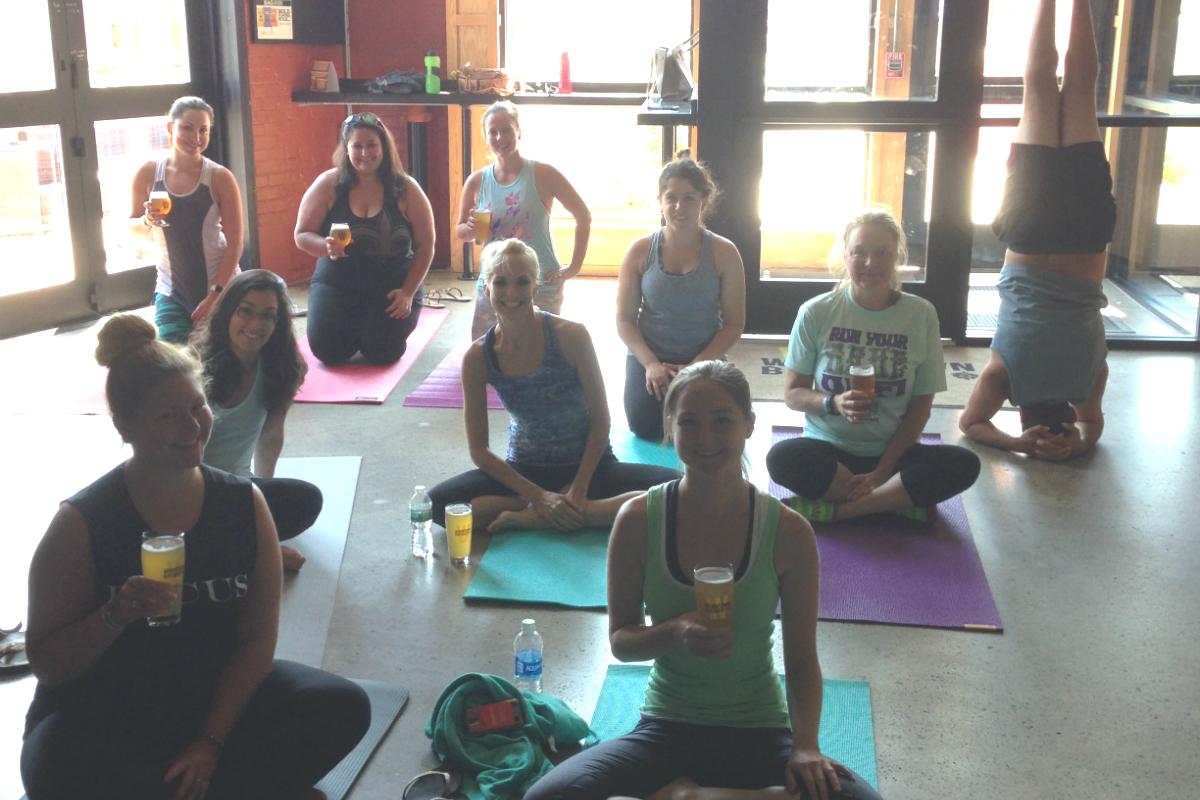Yoga at Wormroom/Photo provided