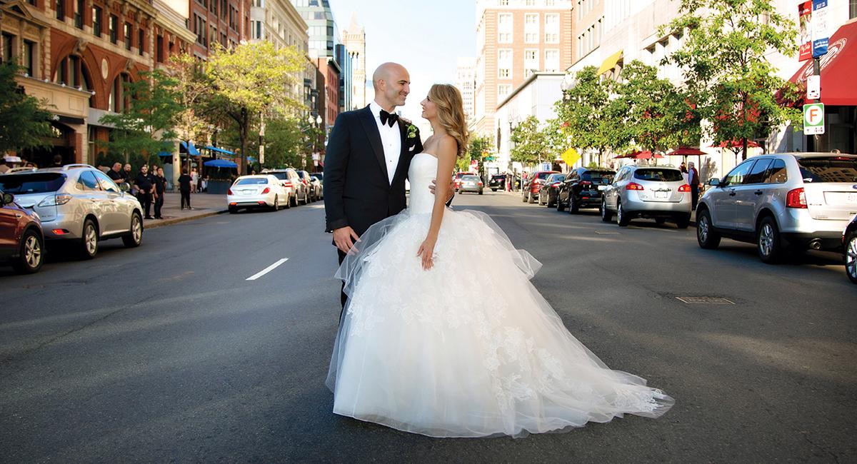 Ashley Swafford Brian Petruzzelli real wedding sm