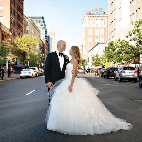 Ashley Swafford  Brian Petruzzelli real wedding sq