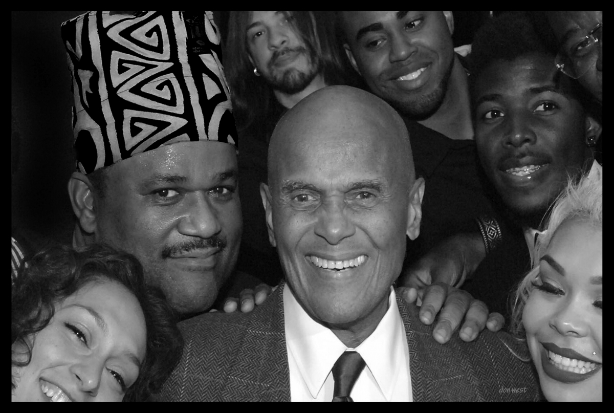 A portrait of Harry Belafonte featured in new photography exhibit at BCAE.