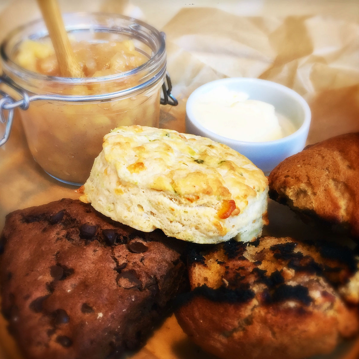 Baked goodies at the Paddle Inn. / Photo provided