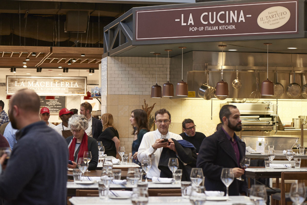 Eataly Boston's La Cucina pop-up will become Via Emilia by chef Michael Schlow this winter