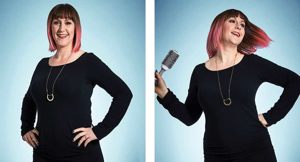 Hairstylist Lindsay Griffin sm