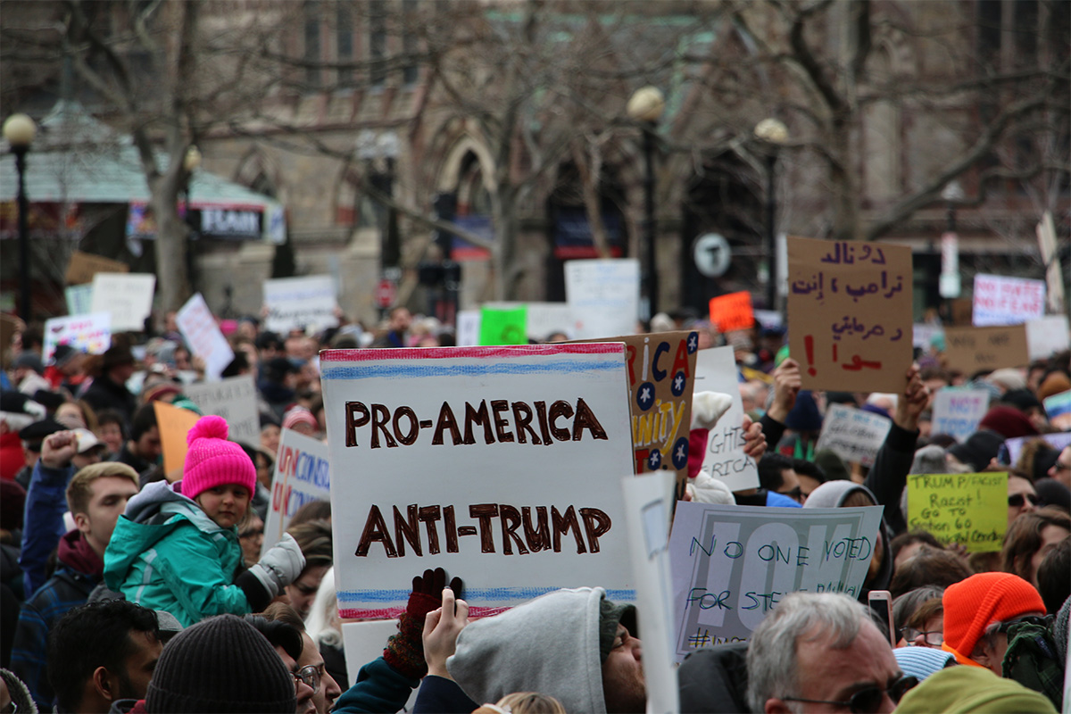 January 29 Boston Trump Protest