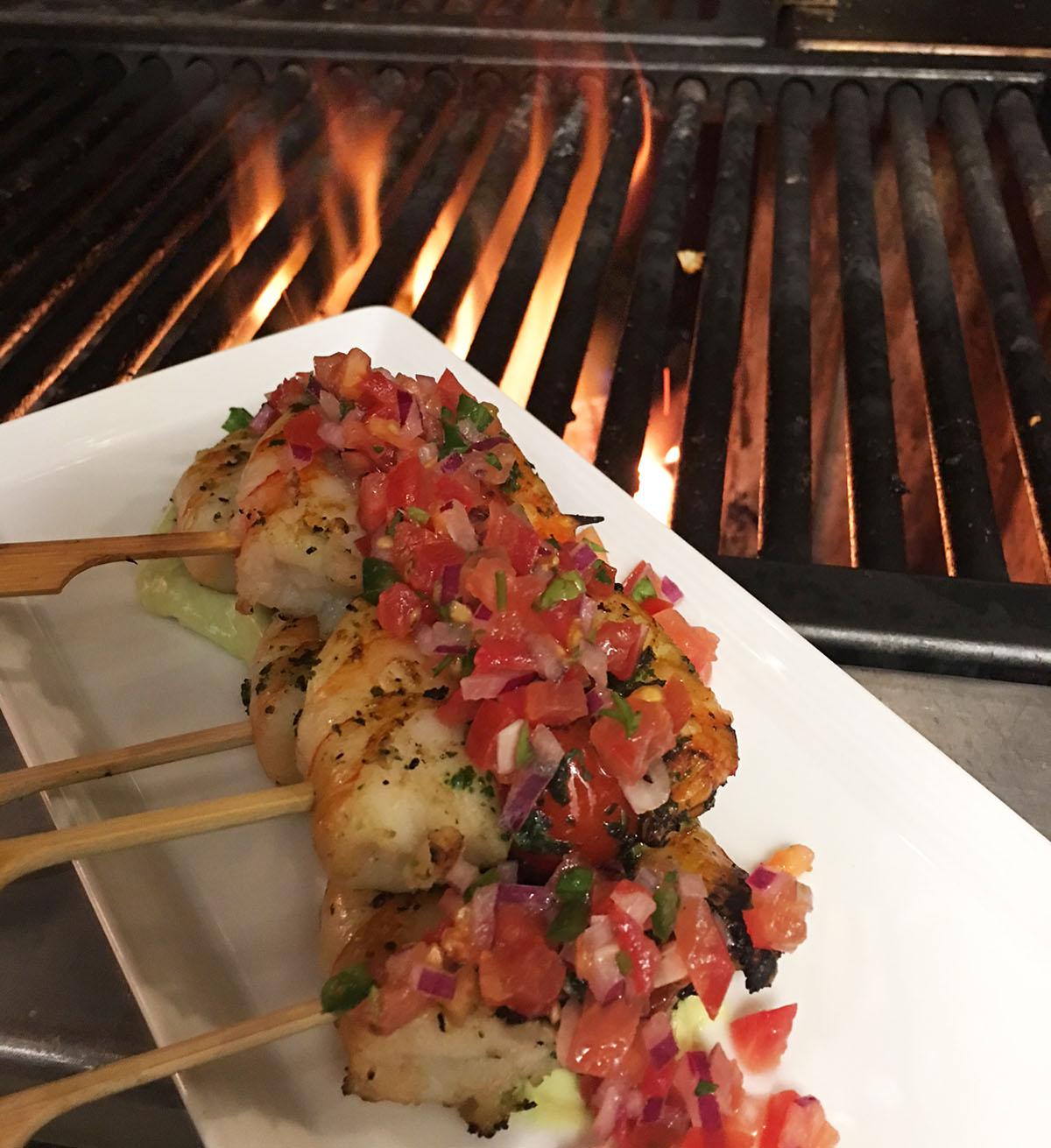 Baja shrimp from chef Joshua Smith