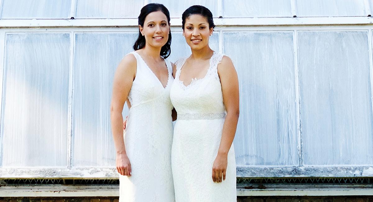 Julie Ciollo Elisse Gaynor real wedding 2