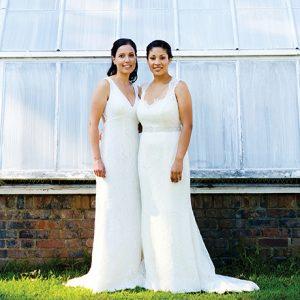 Julie Ciollo Elisse Gaynor real wedding 3