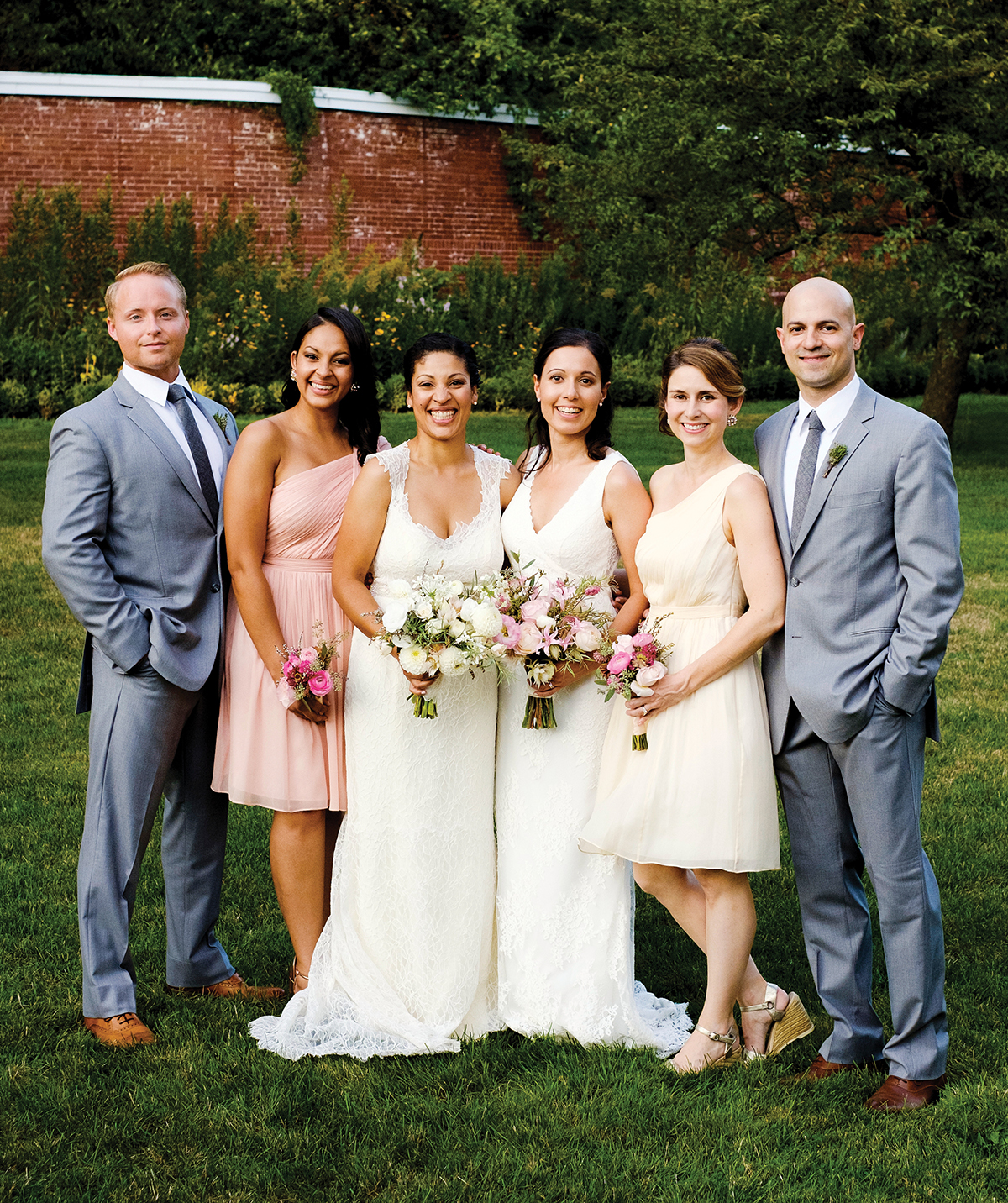 Julie Ciollo Elisse Gaynor real wedding 8