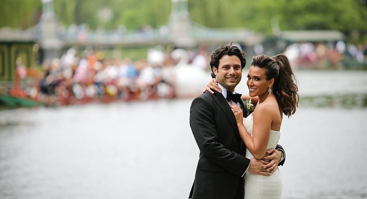 Melanie Platten Adam Feintisch real wedding sm