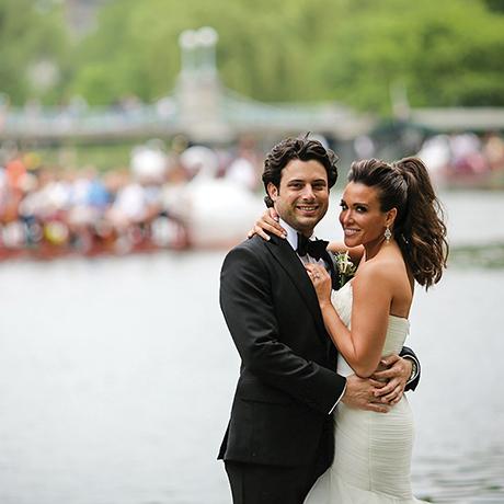 Melanie Platten Adam Feintisch real wedding sq