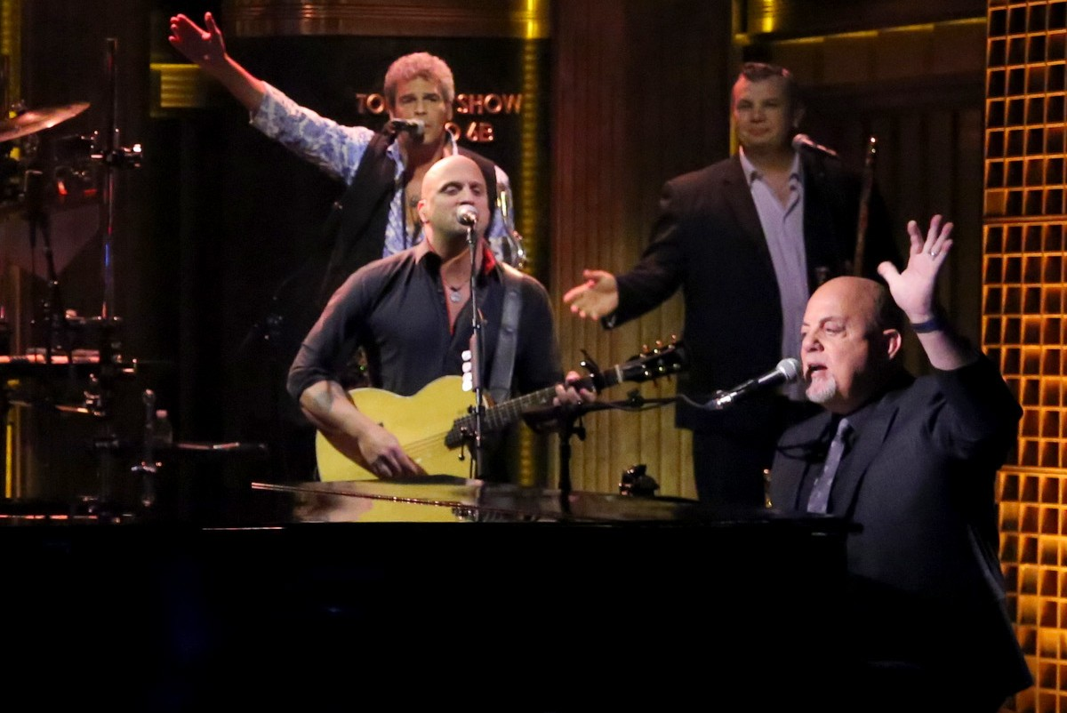 Billy Joel on the 'Tonight Show Starring Jimmy Fallon'