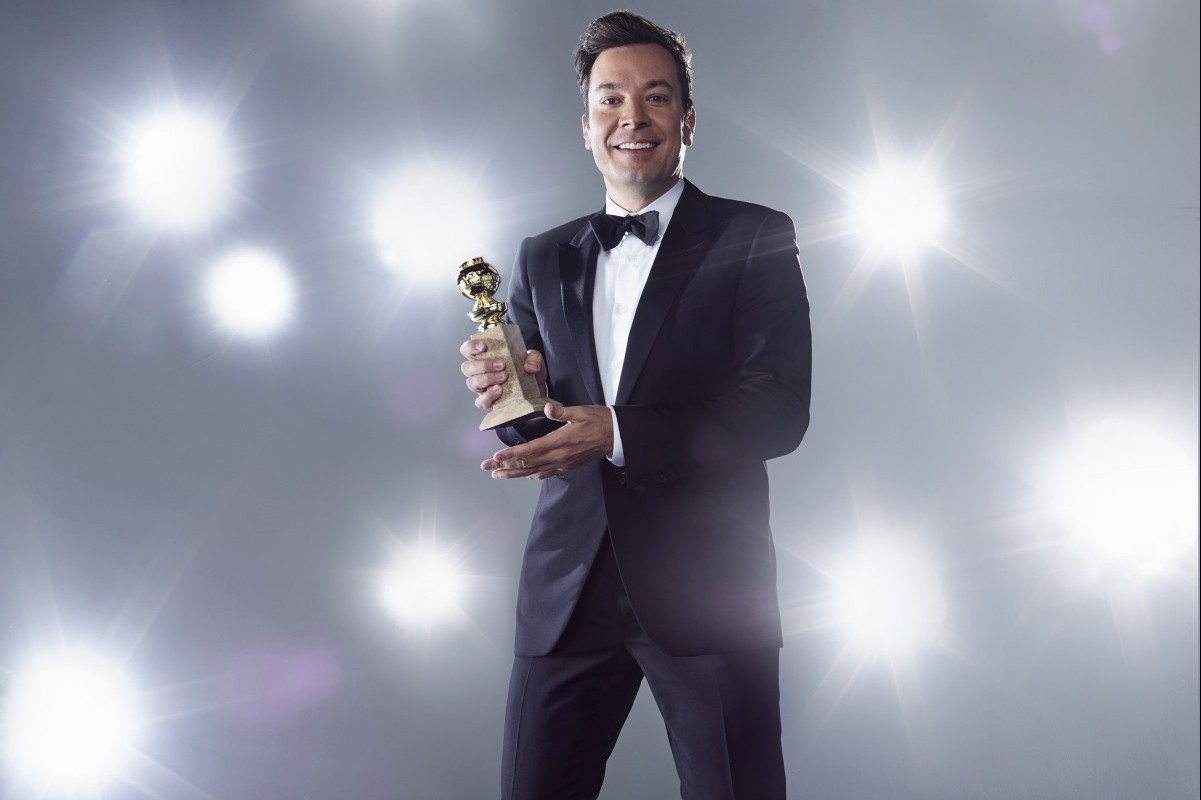 Jimmy Fallon host the 2017 Golden Globes.