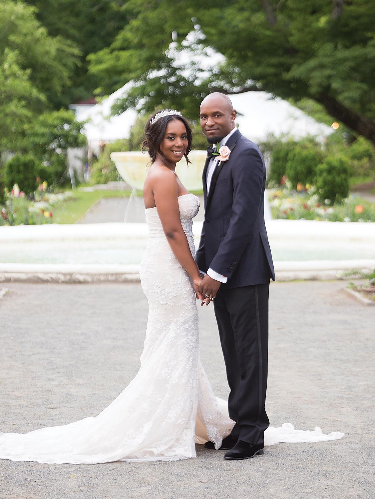 Samantha Jeudy Jamar Tyler real wedding 2