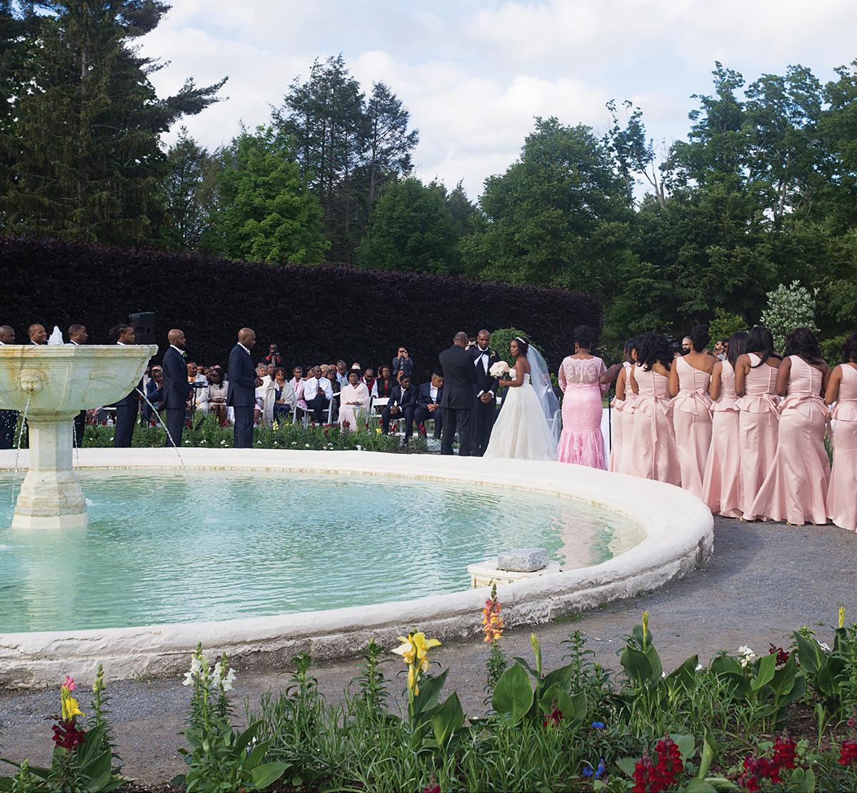Samantha Jeudy Jamar Tyler real wedding 3