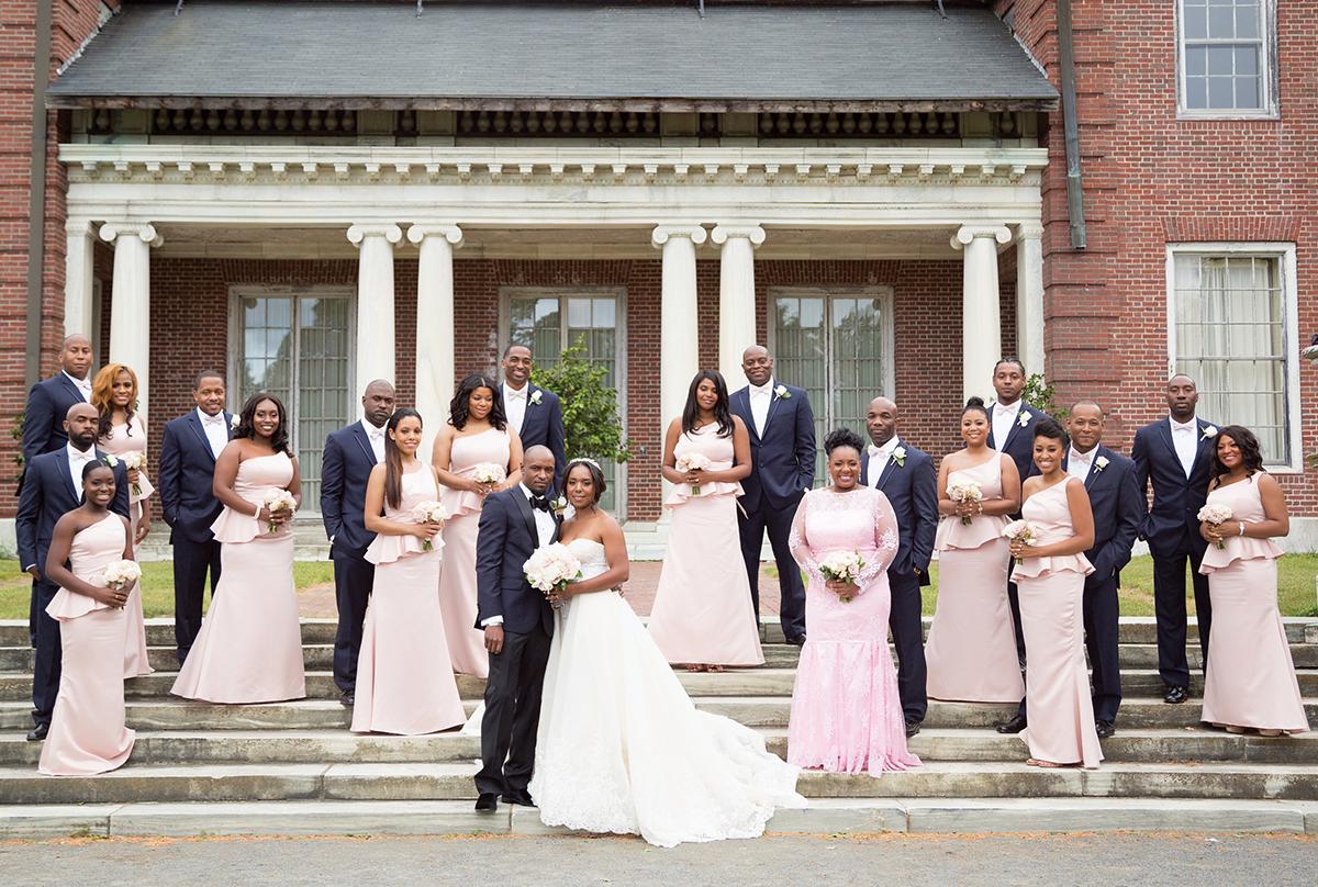Samantha Jeudy Jamar Tyler real wedding 4