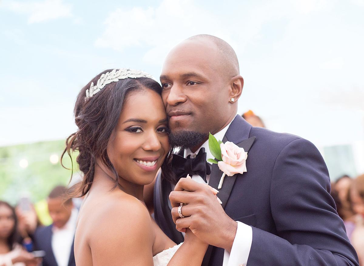 Samantha Jeudy Jamar Tyler real wedding 7
