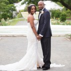 Samantha Jeudy Jamar Tyler real wedding sq