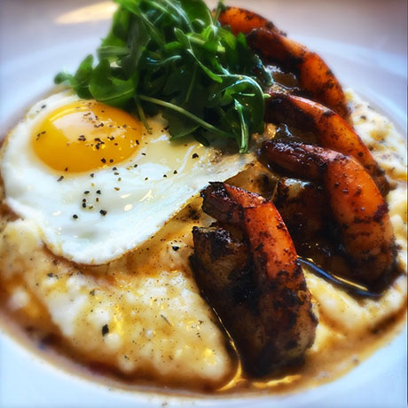 Shrimp and grits at the Paddle Inn. / Photo provided