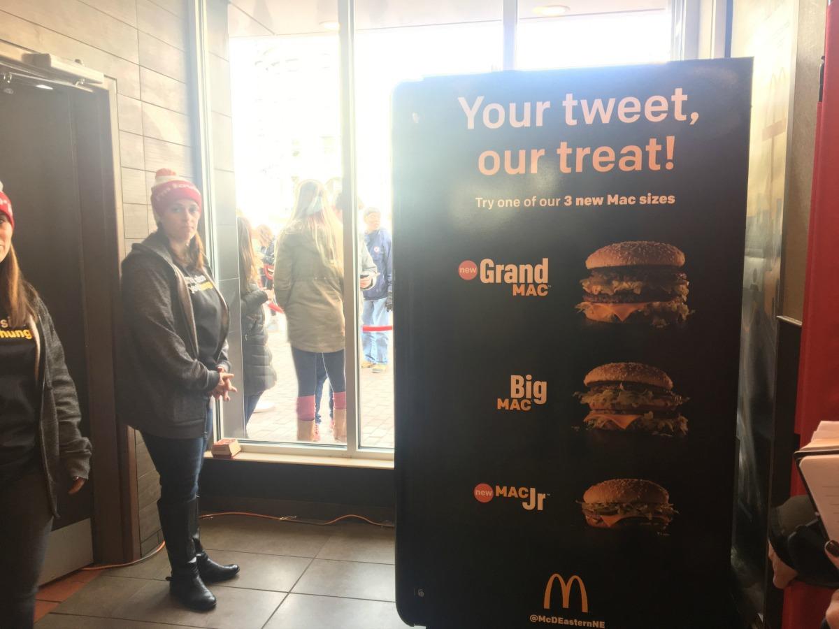 Big Mac ATM. Photo by Abbi Matheson
