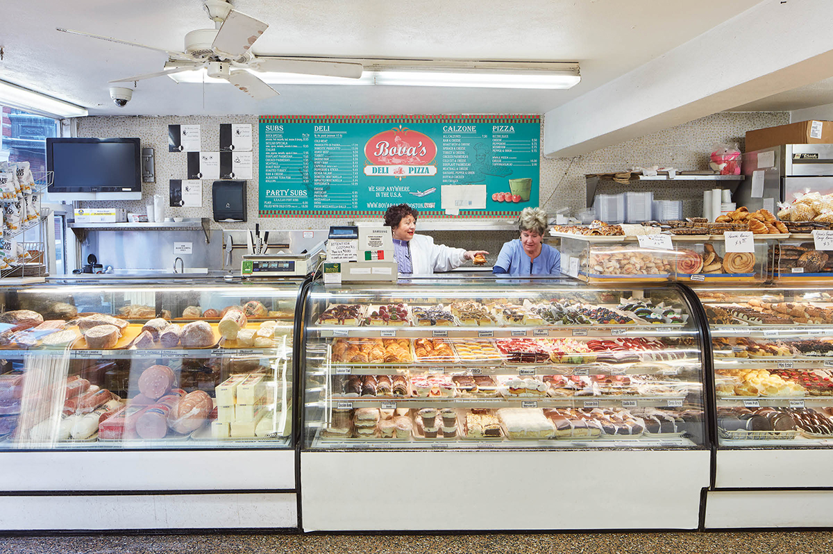 best north end restaurants guide boston bova's bakery