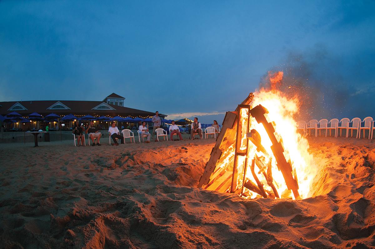 block island bonfires block island ri wedding venues