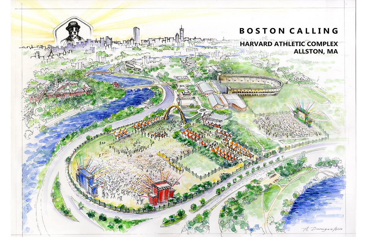 boston calling harvard athletic complex allston