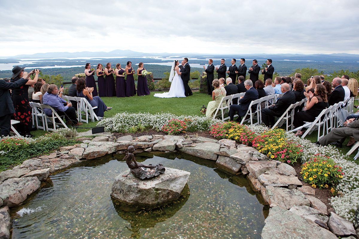 Wedding venues in the lakes region new hampshire boston magazine castle in the clouds lakes region nh wedding venues junglespirit Choice Image