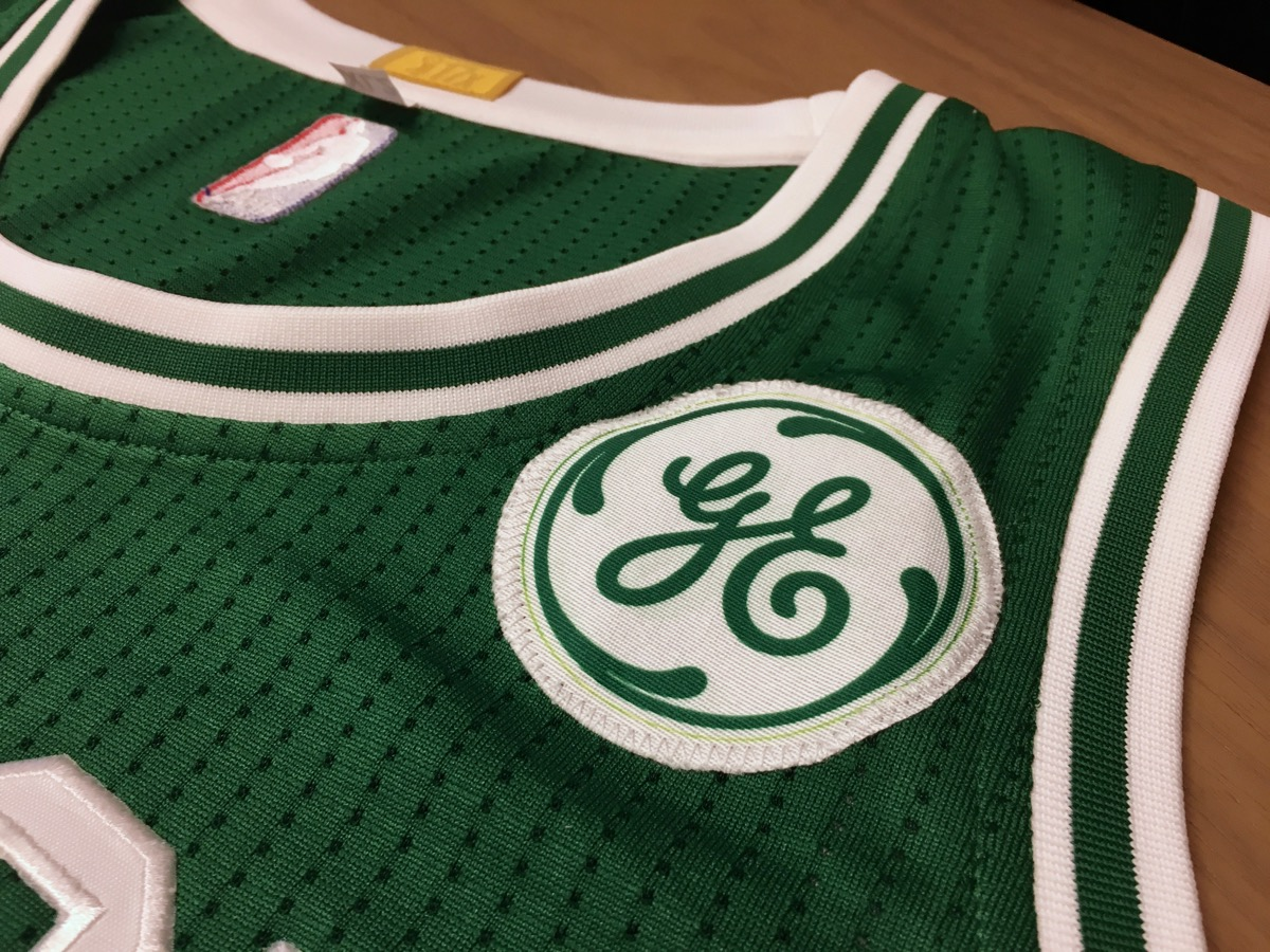 the best attitude d8c51 7e9a5 General Electric Inks Deal to Put Its Logo on Celtics Jerseys