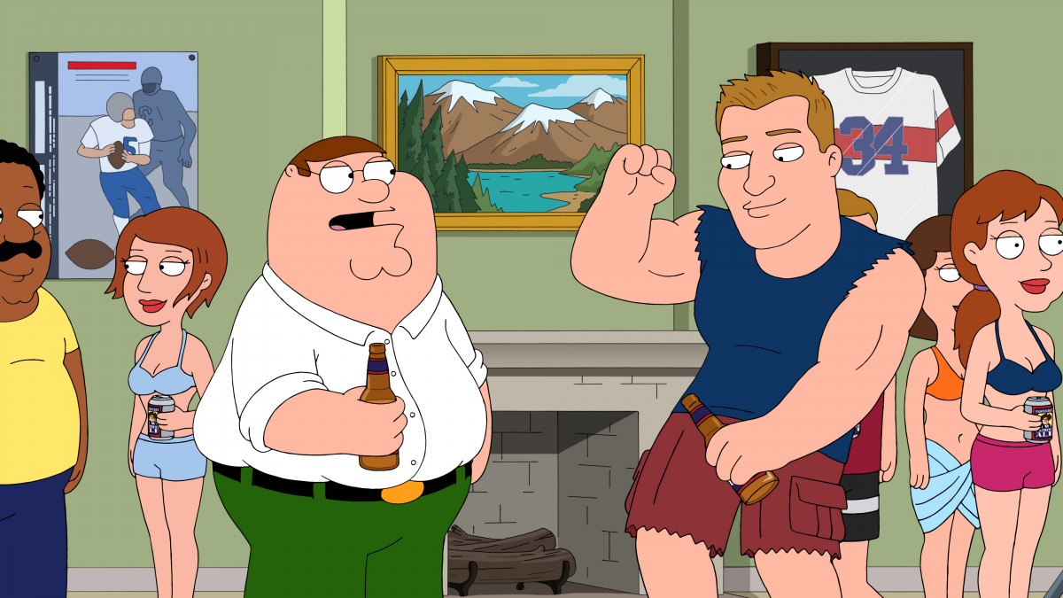 Rob Gronkowski on 'Family Guy'